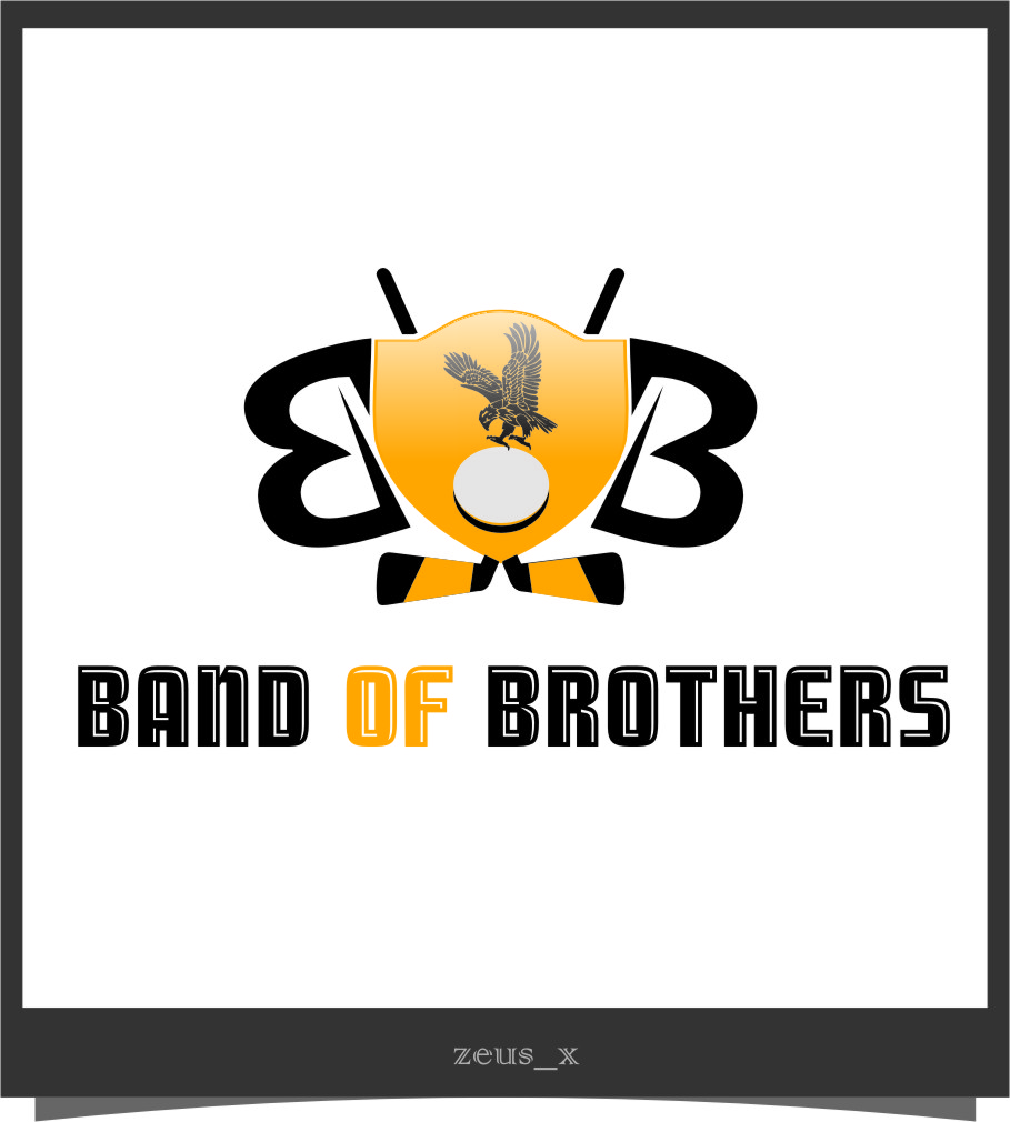 Logo Design by Ngepet_art - Entry No. 54 in the Logo Design Contest Inspiring Logo Design for Band of Brothers.