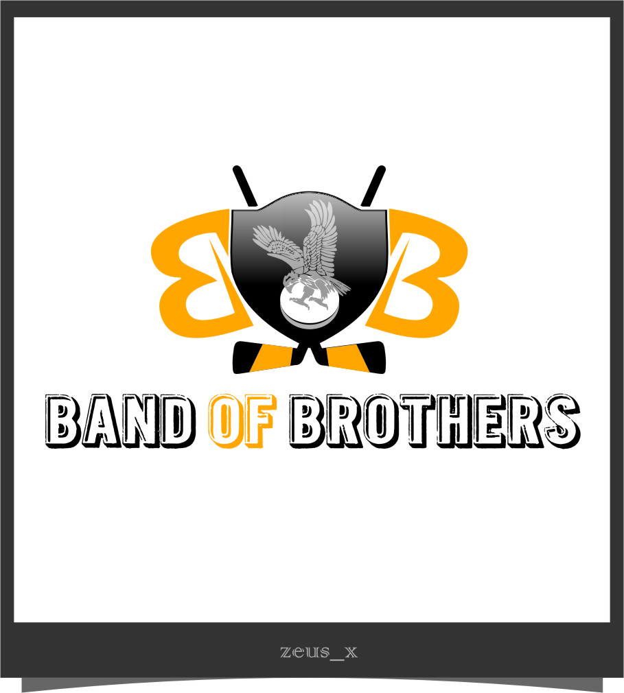 Logo Design by RoSyid Rono-Rene On Java - Entry No. 55 in the Logo Design Contest Inspiring Logo Design for Band of Brothers.
