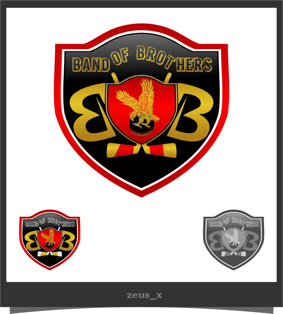 Logo Design by RasYa Muhammad Athaya - Entry No. 56 in the Logo Design Contest Inspiring Logo Design for Band of Brothers.