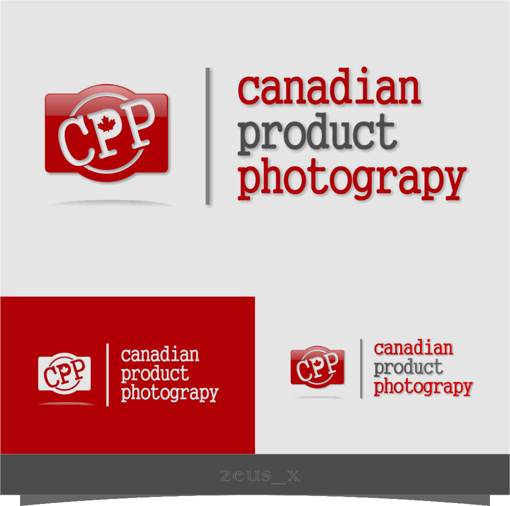 Logo Design by Ngepet_art - Entry No. 46 in the Logo Design Contest Artistic Logo Design for Canadian Product Photography.