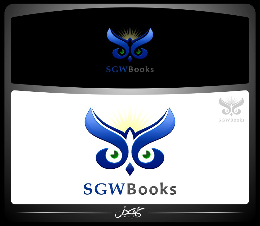 Logo Design by joca - Entry No. 61 in the Logo Design Contest SGW Books Logo Design.