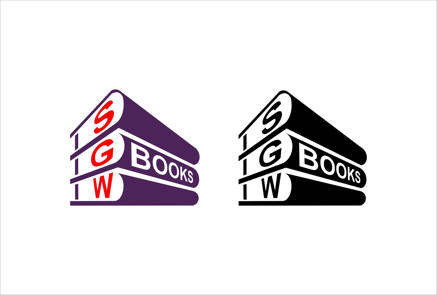 Logo Design by Niraj Dhimmar - Entry No. 66 in the Logo Design Contest SGW Books Logo Design.