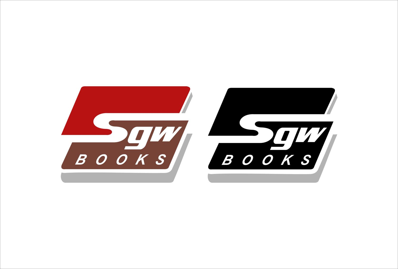Logo Design by Niraj Dhimmar - Entry No. 68 in the Logo Design Contest SGW Books Logo Design.