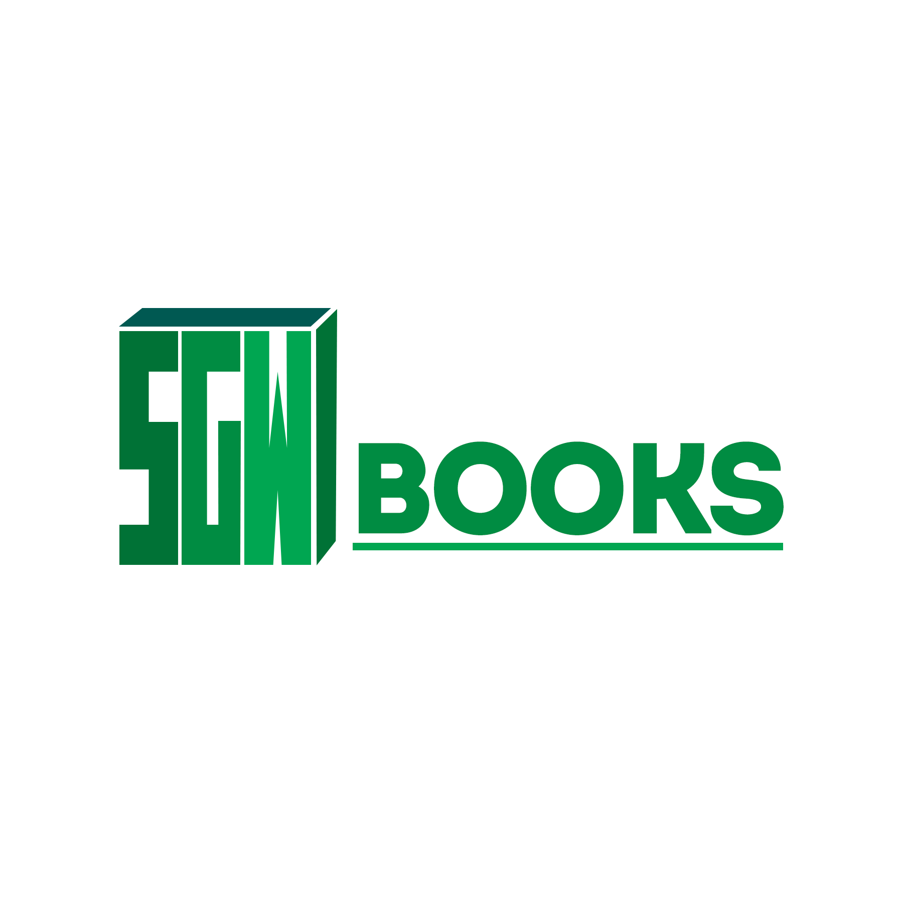Logo Design by Lemuel Arvin Tanzo - Entry No. 70 in the Logo Design Contest SGW Books Logo Design.