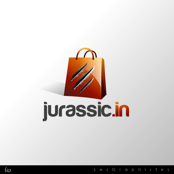 Logo Design by Les-Graphistes - Entry No. 10 in the Logo Design Contest Unique Logo Design Wanted for jurassic.in.