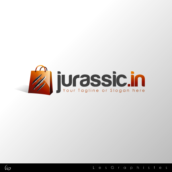 Logo Design by Les-Graphistes - Entry No. 11 in the Logo Design Contest Unique Logo Design Wanted for jurassic.in.