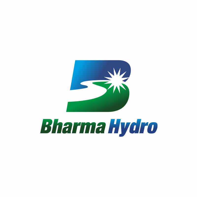 Logo Design by montoshlall - Entry No. 46 in the Logo Design Contest Creative Logo Design for Bharma Hydro.
