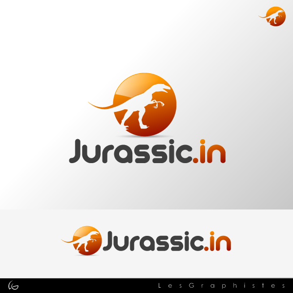 Logo Design by Les-Graphistes - Entry No. 14 in the Logo Design Contest Unique Logo Design Wanted for jurassic.in.