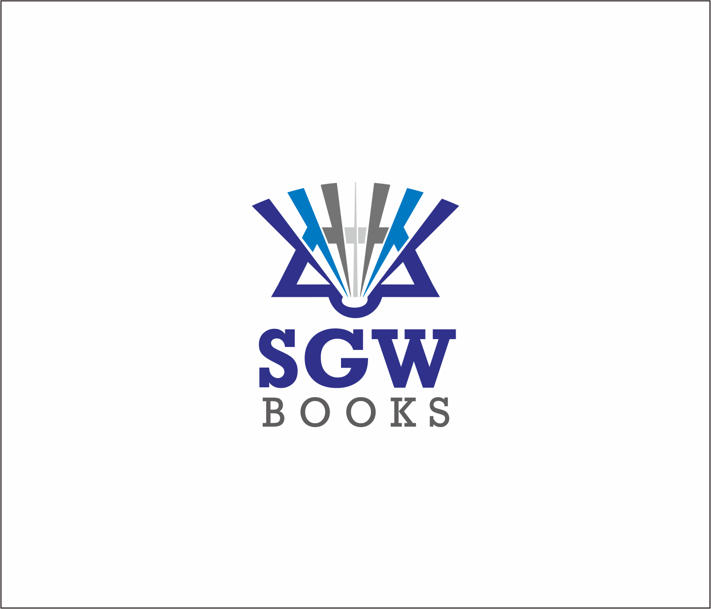 Logo Design by Armada Jamaluddin - Entry No. 75 in the Logo Design Contest SGW Books Logo Design.