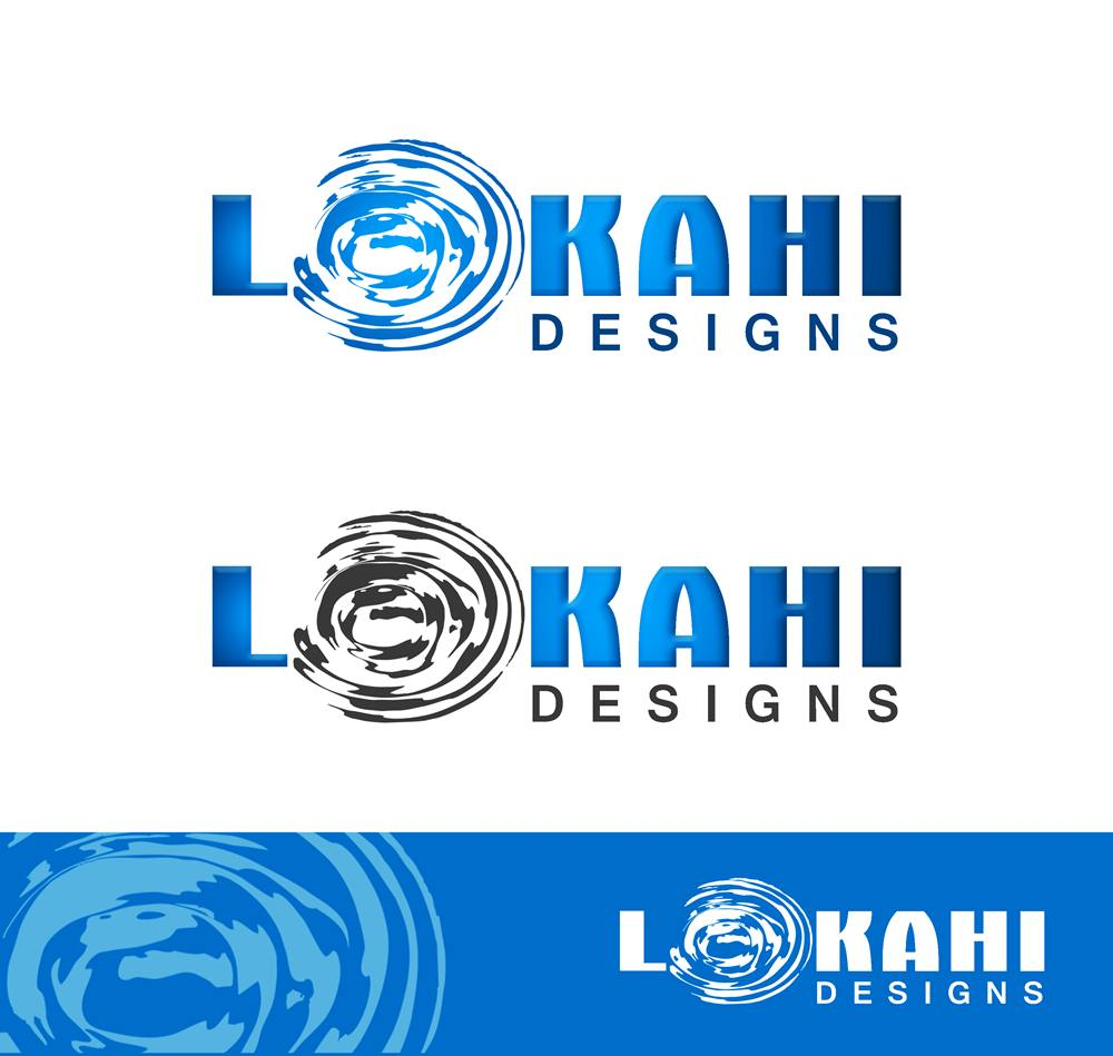 Logo Design by Respati Himawan - Entry No. 54 in the Logo Design Contest Unique Logo Design Wanted for Lokahi Designs.
