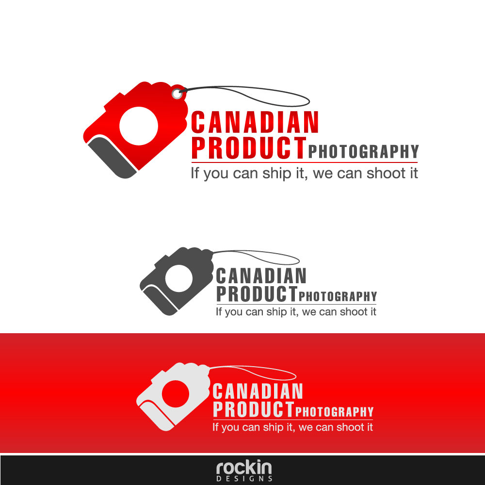 Logo Design by rockin - Entry No. 58 in the Logo Design Contest Artistic Logo Design for Canadian Product Photography.