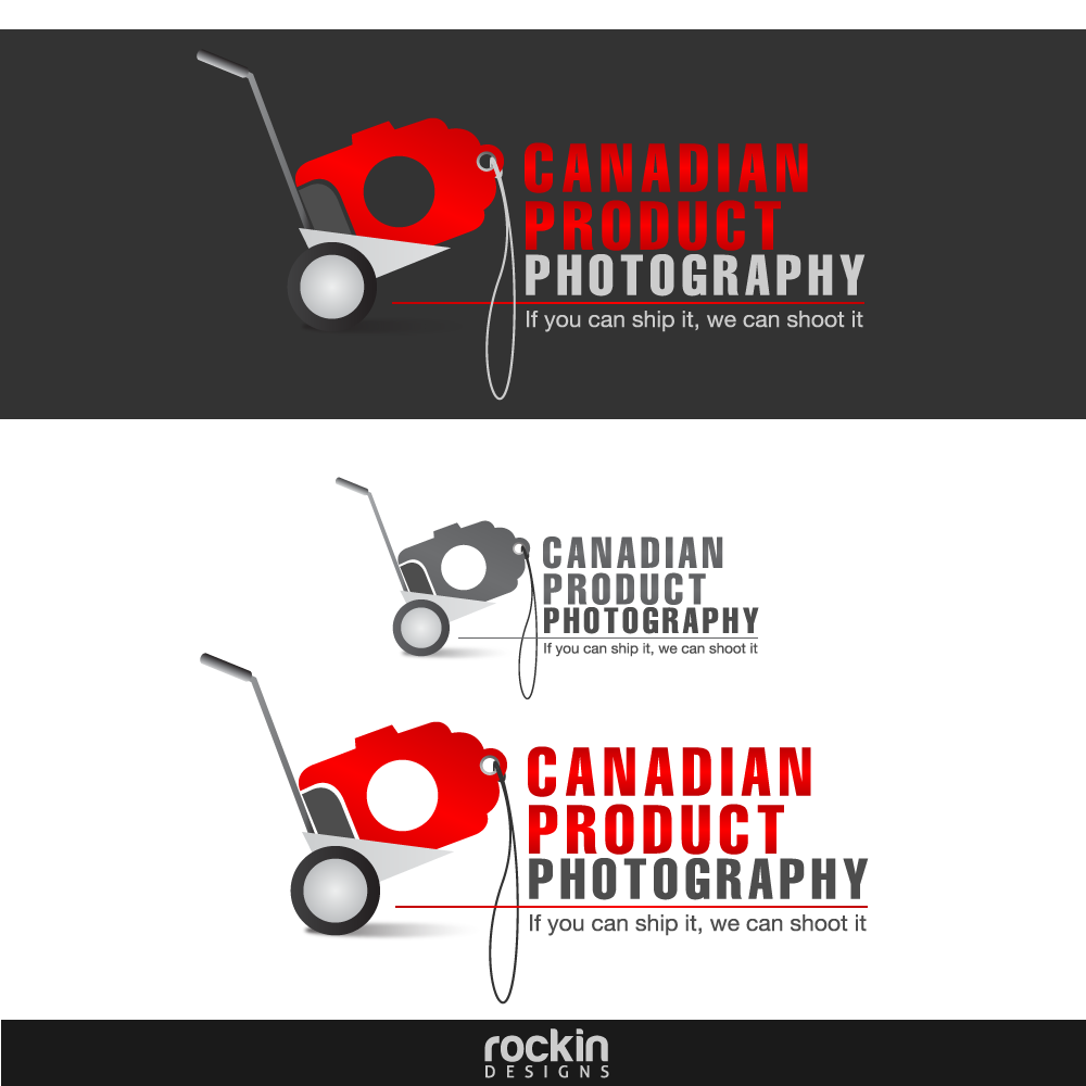 Logo Design by rockin - Entry No. 60 in the Logo Design Contest Artistic Logo Design for Canadian Product Photography.