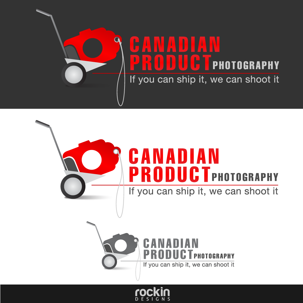 Logo Design by rockin - Entry No. 62 in the Logo Design Contest Artistic Logo Design for Canadian Product Photography.