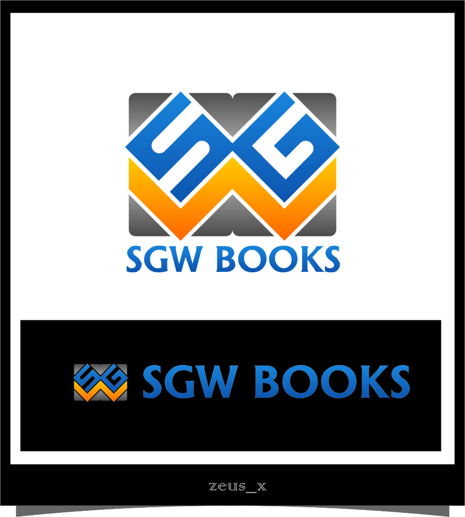 Logo Design by RasYa Muhammad Athaya - Entry No. 80 in the Logo Design Contest SGW Books Logo Design.