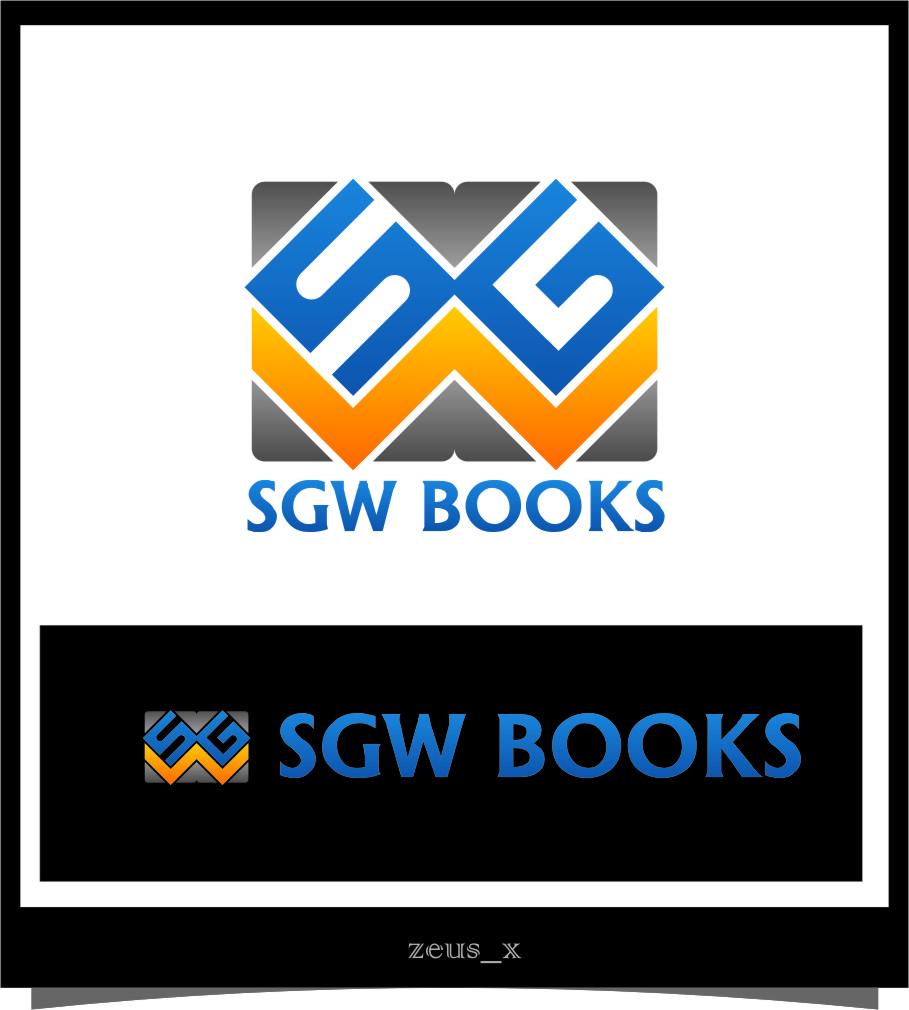 Logo Design by Ngepet_art - Entry No. 80 in the Logo Design Contest SGW Books Logo Design.