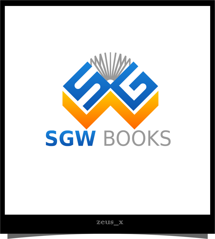 Logo Design by RasYa Muhammad Athaya - Entry No. 81 in the Logo Design Contest SGW Books Logo Design.