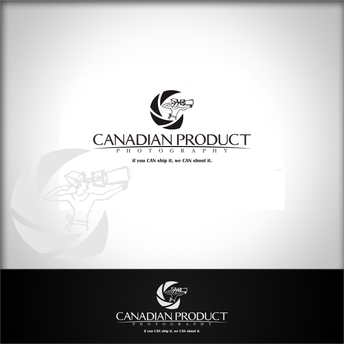 Logo Design by Private User - Entry No. 63 in the Logo Design Contest Artistic Logo Design for Canadian Product Photography.