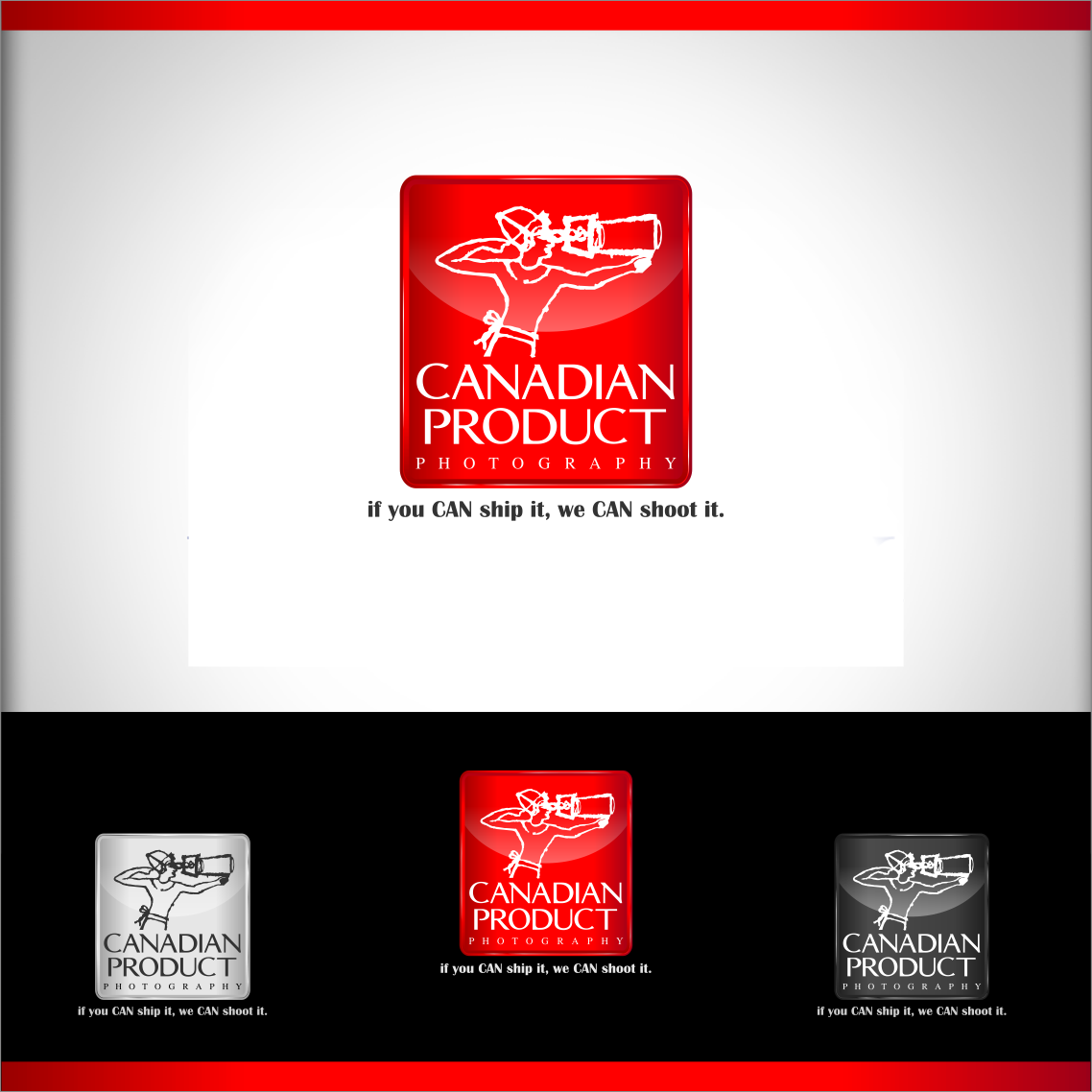 Logo Design by Private User - Entry No. 64 in the Logo Design Contest Artistic Logo Design for Canadian Product Photography.