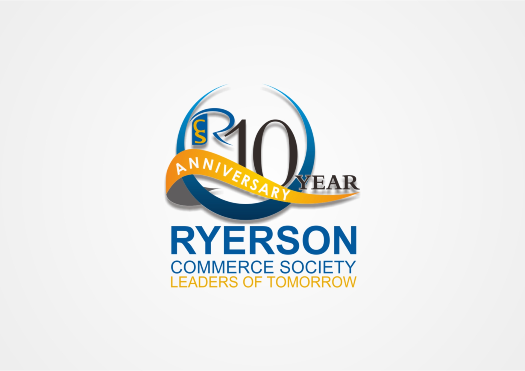 Logo Design by Private User - Entry No. 17 in the Logo Design Contest 10 Year Anniversary Logo Design for the Ryerson Commerce Society.
