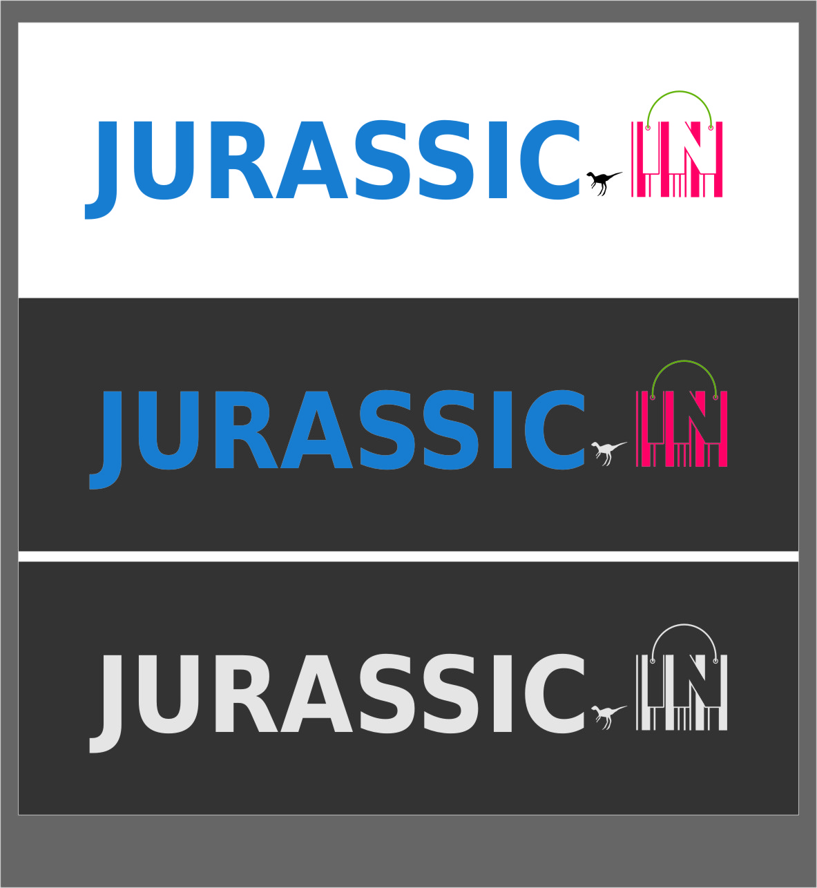 Logo Design by RasYa Muhammad Athaya - Entry No. 19 in the Logo Design Contest Unique Logo Design Wanted for jurassic.in.