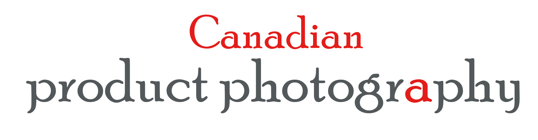 Logo Design by Nona Smith - Entry No. 65 in the Logo Design Contest Artistic Logo Design for Canadian Product Photography.