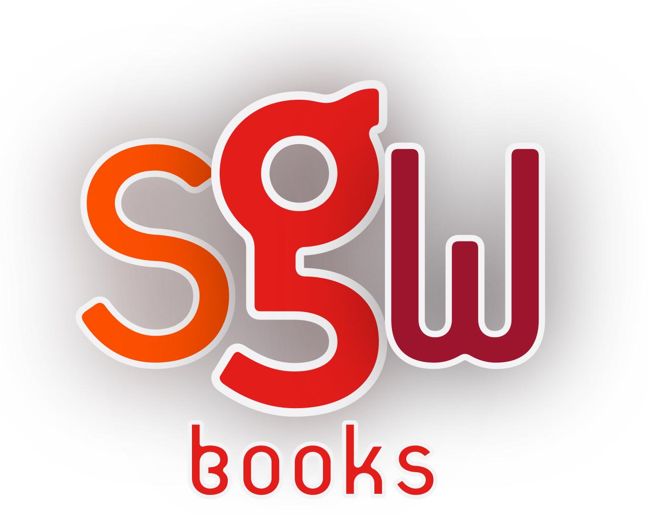 Logo Design by Nona Smith - Entry No. 86 in the Logo Design Contest SGW Books Logo Design.