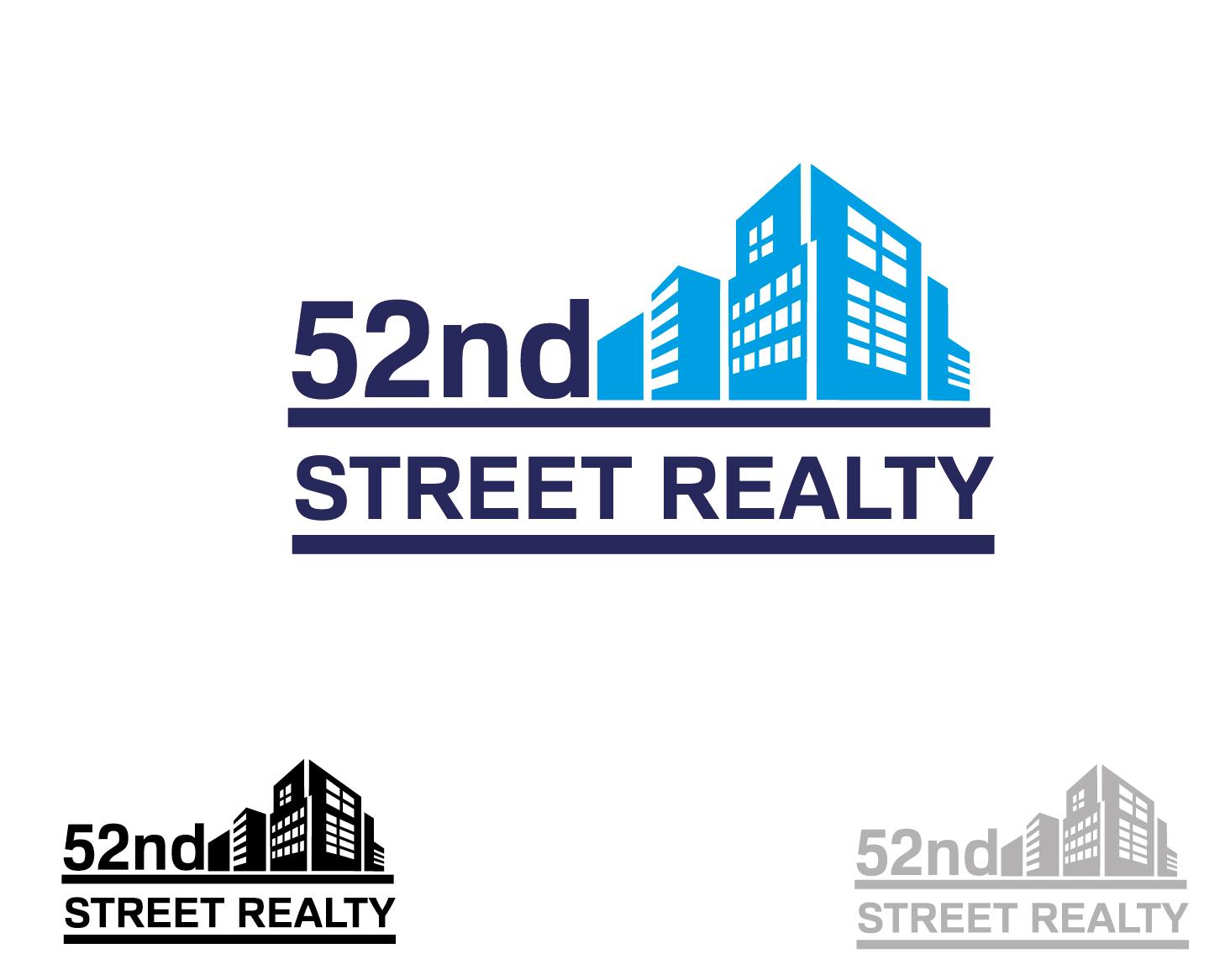 Logo Design by VENTSISLAV KOVACHEV - Entry No. 41 in the Logo Design Contest 52nd Street Realty Logo Design.
