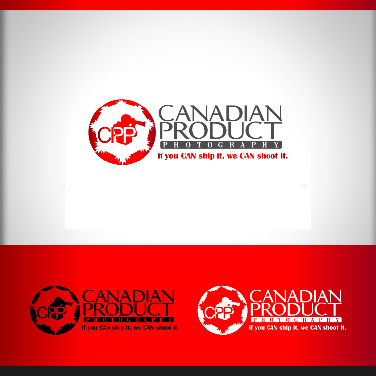 Logo Design by Private User - Entry No. 66 in the Logo Design Contest Artistic Logo Design for Canadian Product Photography.
