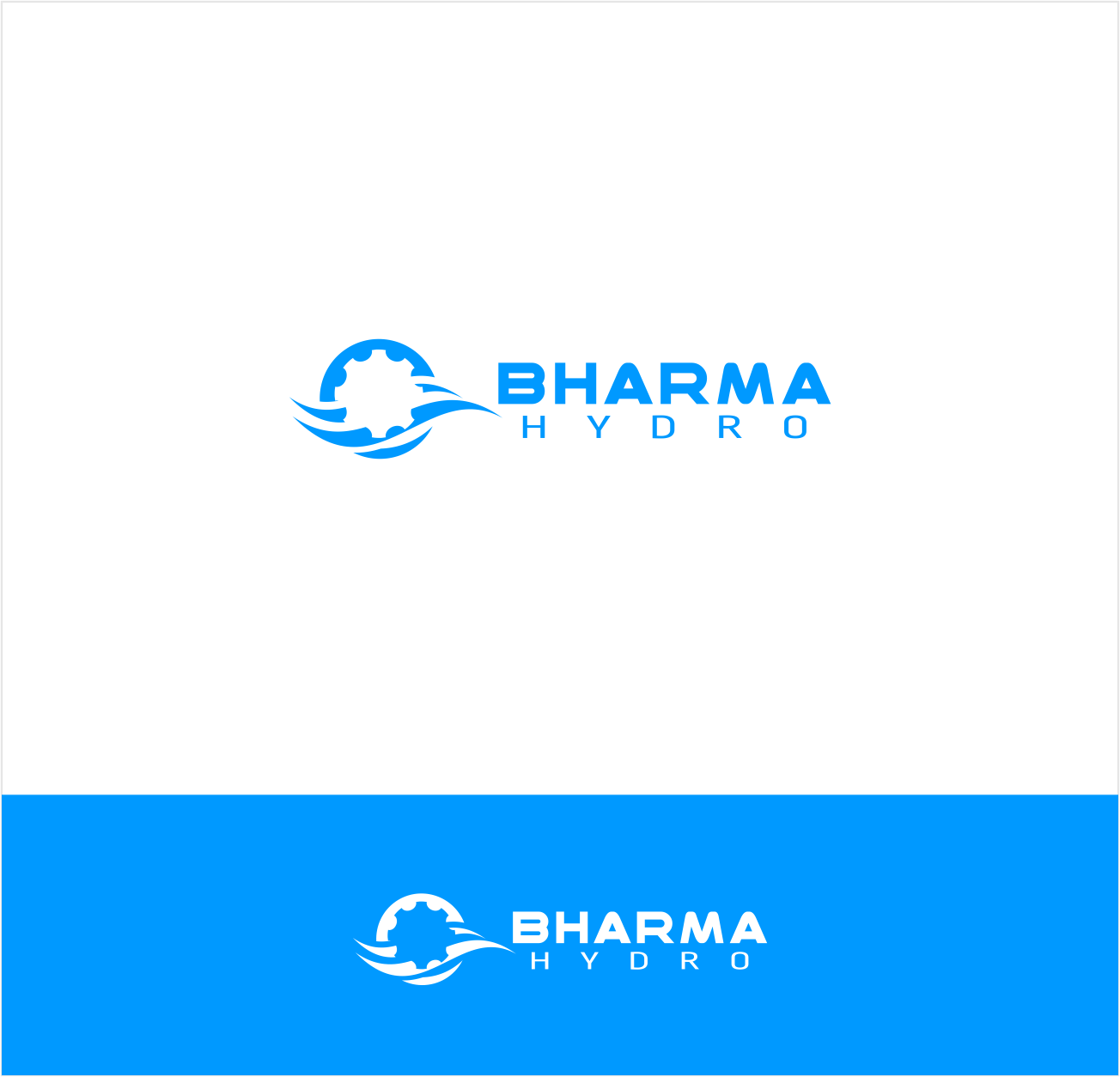 Logo Design by Private User - Entry No. 48 in the Logo Design Contest Creative Logo Design for Bharma Hydro.