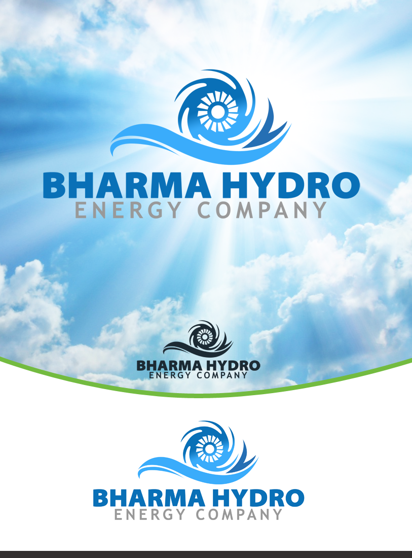 Logo Design by Private User - Entry No. 52 in the Logo Design Contest Creative Logo Design for Bharma Hydro.