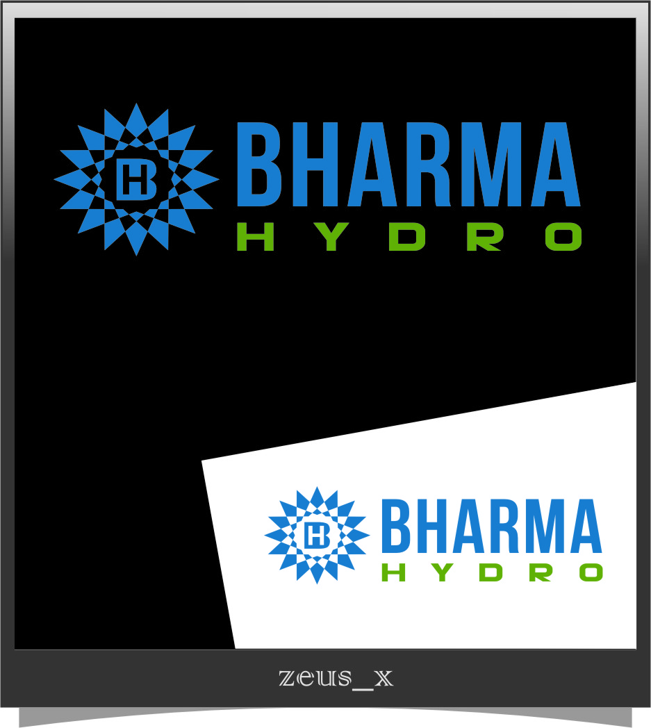 Logo Design by RasYa Muhammad Athaya - Entry No. 54 in the Logo Design Contest Creative Logo Design for Bharma Hydro.