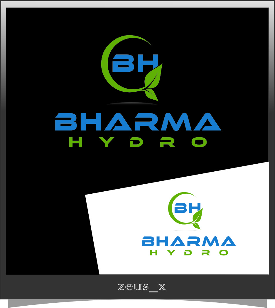 Logo Design by RoSyid Rono-Rene On Java - Entry No. 56 in the Logo Design Contest Creative Logo Design for Bharma Hydro.