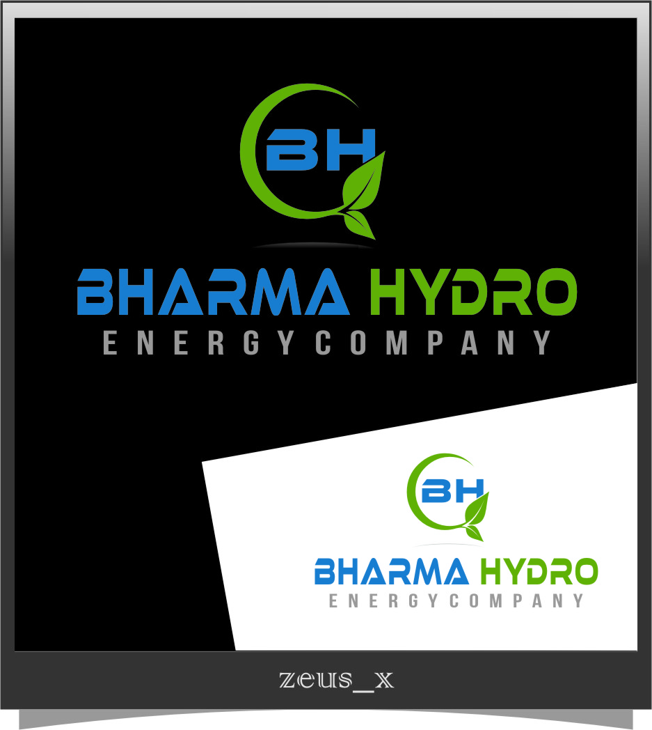 Logo Design by RasYa Muhammad Athaya - Entry No. 57 in the Logo Design Contest Creative Logo Design for Bharma Hydro.