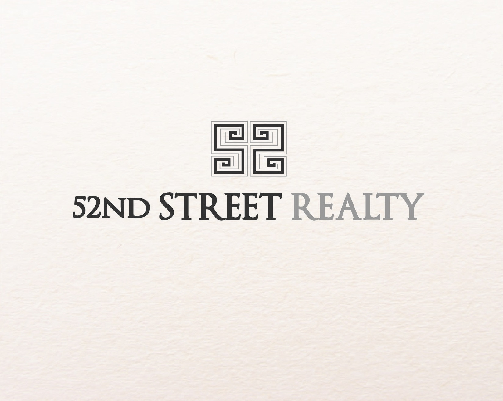 Logo Design by iwyn - Entry No. 47 in the Logo Design Contest 52nd Street Realty Logo Design.