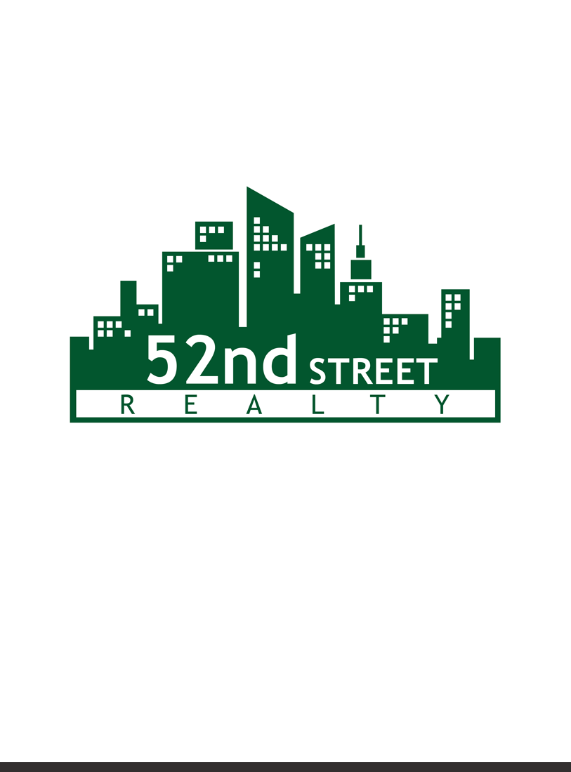 Logo Design by Private User - Entry No. 50 in the Logo Design Contest 52nd Street Realty Logo Design.