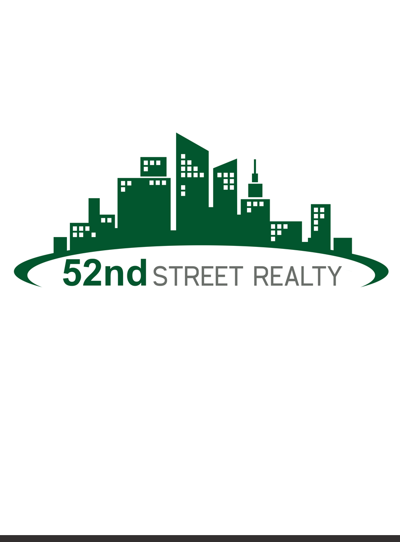 Logo Design by Private User - Entry No. 51 in the Logo Design Contest 52nd Street Realty Logo Design.
