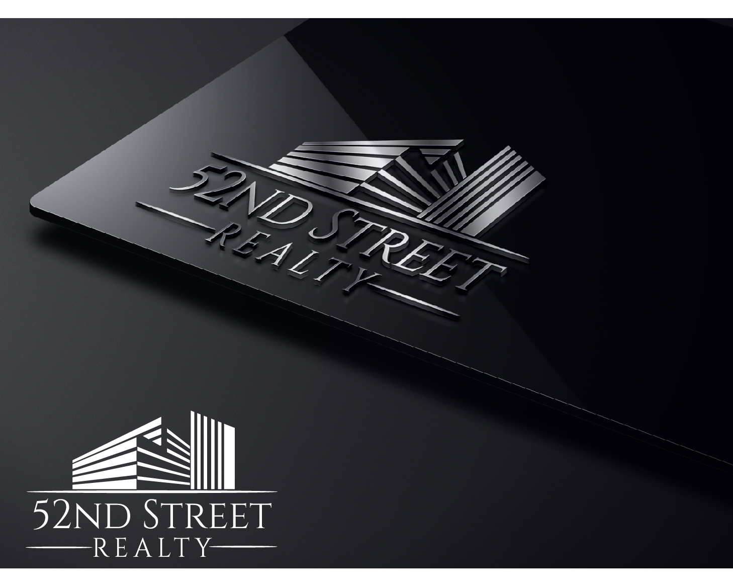 Logo Design by VENTSISLAV KOVACHEV - Entry No. 54 in the Logo Design Contest 52nd Street Realty Logo Design.