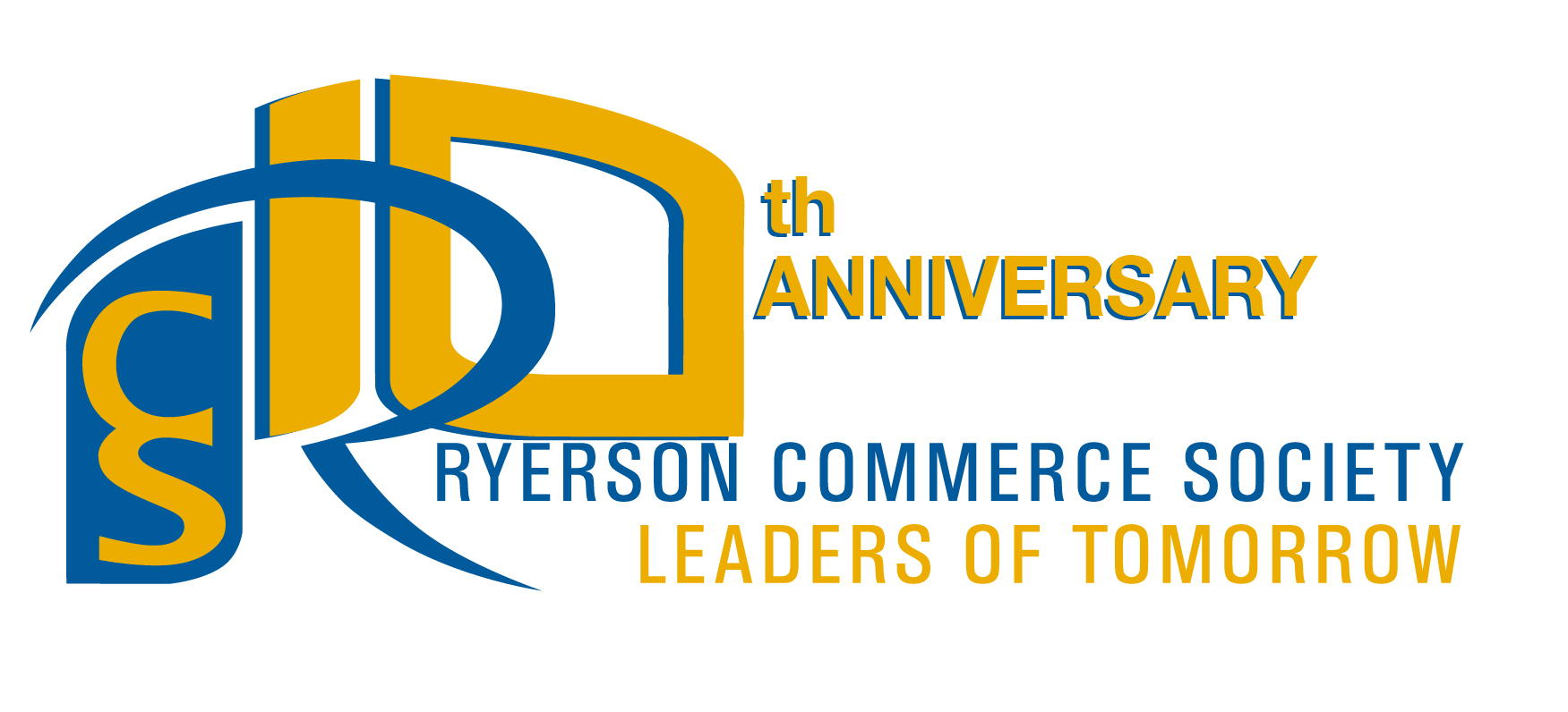 Logo Design by Chandrodayan Mavadian - Entry No. 35 in the Logo Design Contest 10 Year Anniversary Logo Design for the Ryerson Commerce Society.