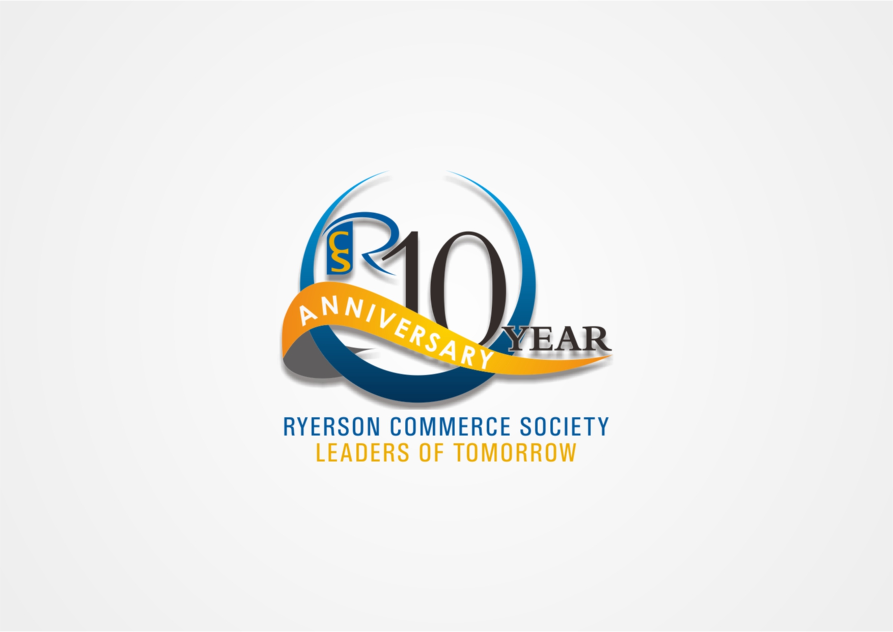 Logo Design by Private User - Entry No. 36 in the Logo Design Contest 10 Year Anniversary Logo Design for the Ryerson Commerce Society.