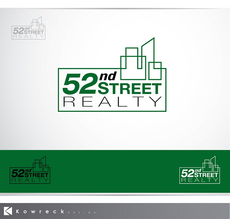 Logo Design by kowreck - Entry No. 58 in the Logo Design Contest 52nd Street Realty Logo Design.