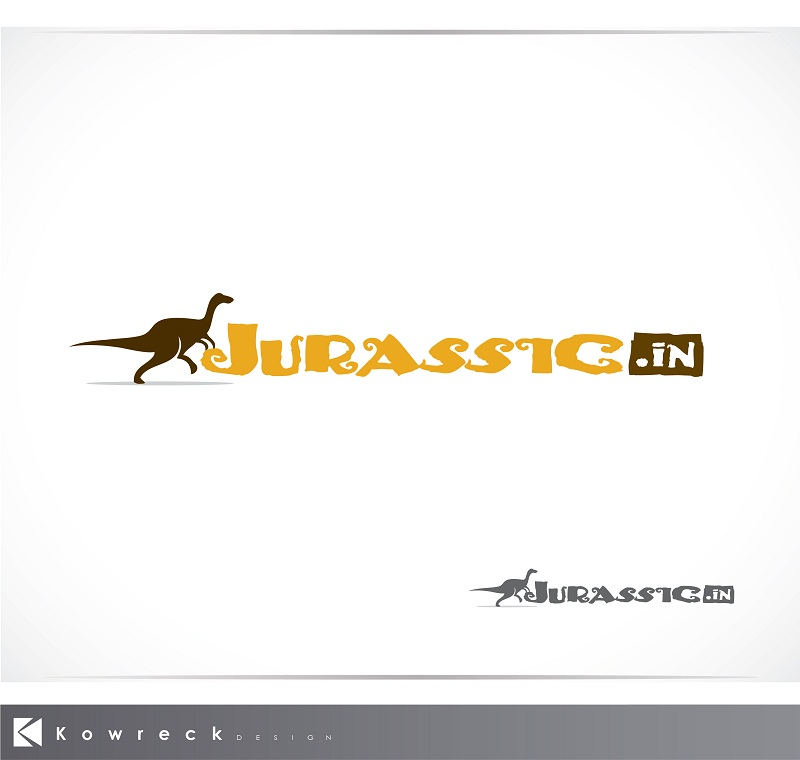 Logo Design by kowreck - Entry No. 22 in the Logo Design Contest Unique Logo Design Wanted for jurassic.in.