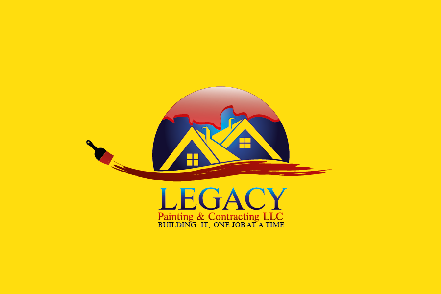 Logo Design by Private User - Entry No. 3 in the Logo Design Contest Logo Design for Legacy Painting & Contracting LLC.