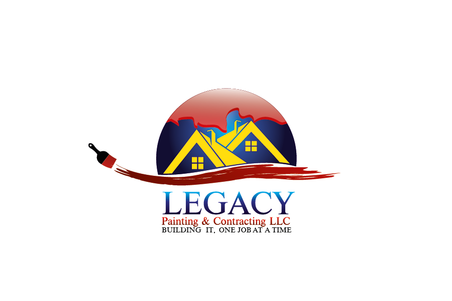 Logo Design by Private User - Entry No. 4 in the Logo Design Contest Logo Design for Legacy Painting & Contracting LLC.