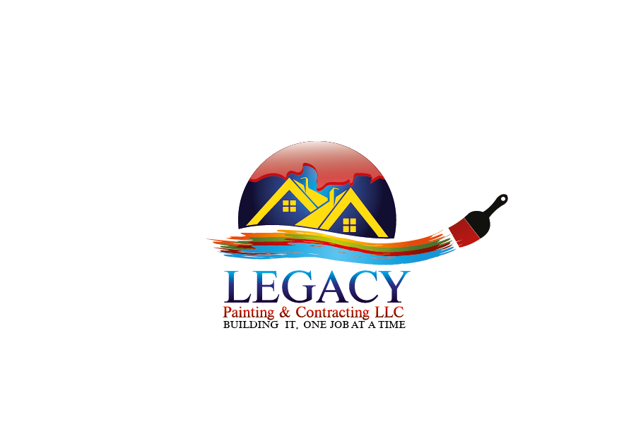Logo Design by Private User - Entry No. 5 in the Logo Design Contest Logo Design for Legacy Painting & Contracting LLC.