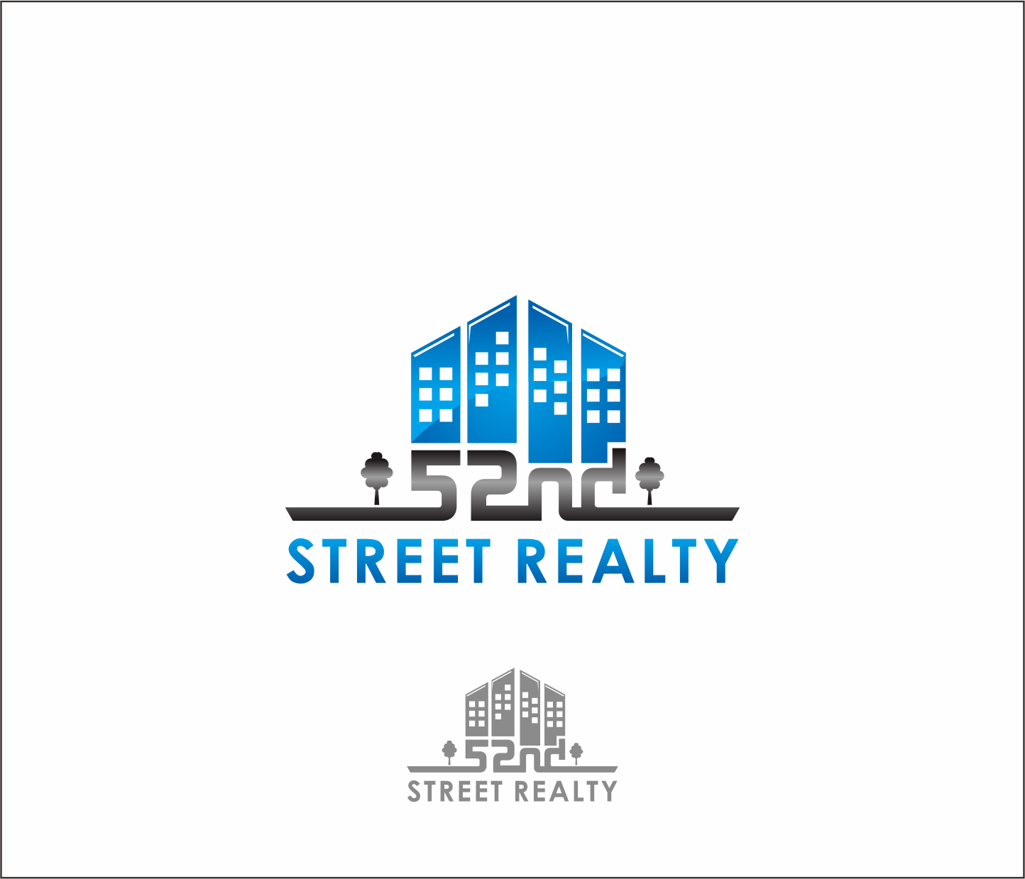 Logo Design by Armada Jamaluddin - Entry No. 73 in the Logo Design Contest 52nd Street Realty Logo Design.