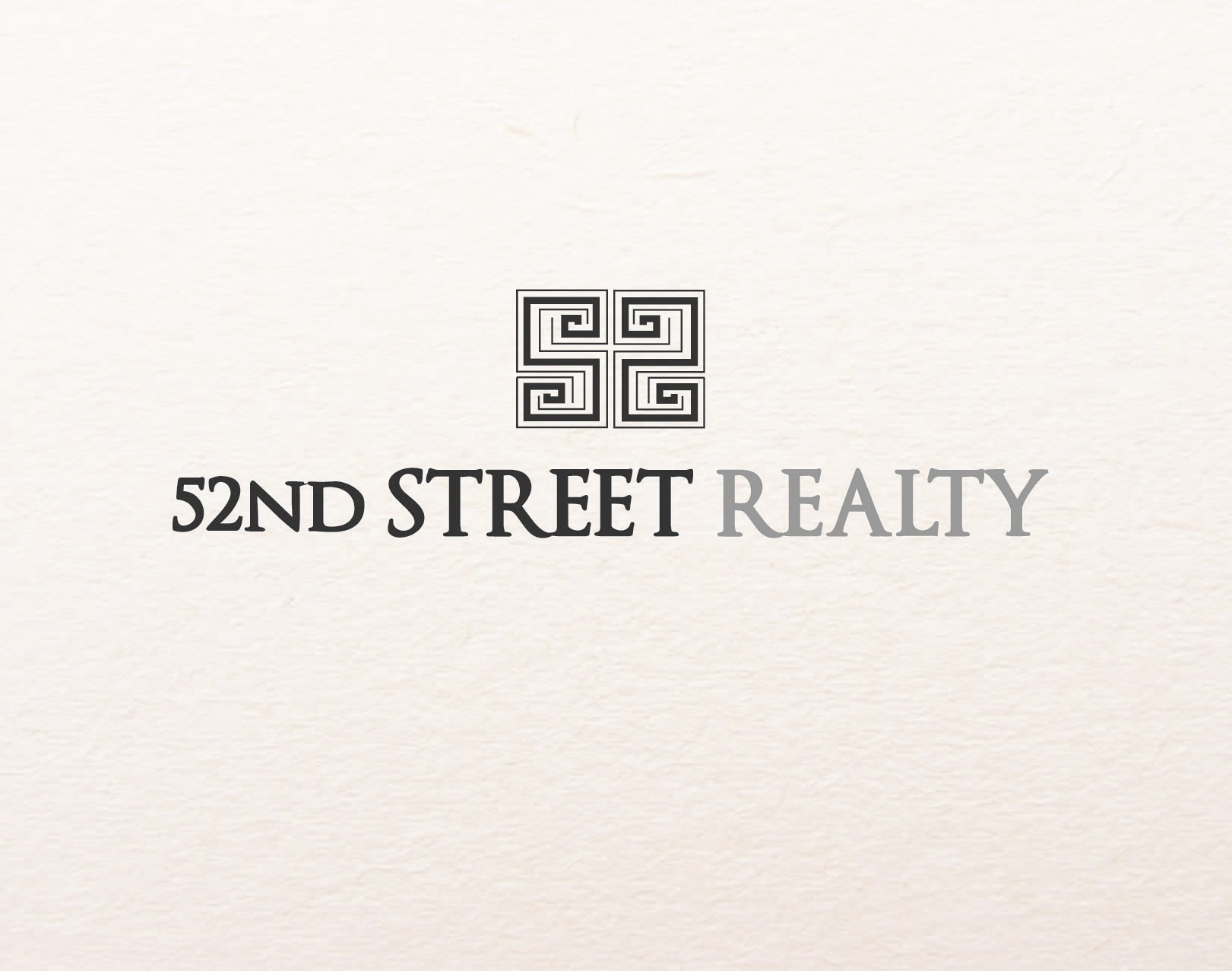 Logo Design by iwyn - Entry No. 83 in the Logo Design Contest 52nd Street Realty Logo Design.