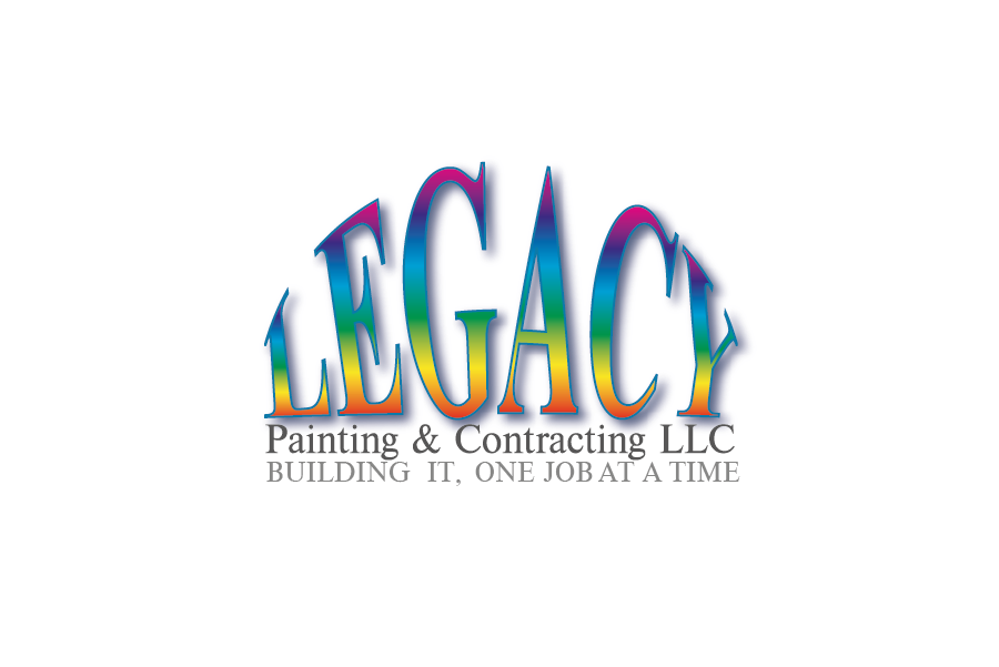 Logo Design by Private User - Entry No. 12 in the Logo Design Contest Logo Design for Legacy Painting & Contracting LLC.