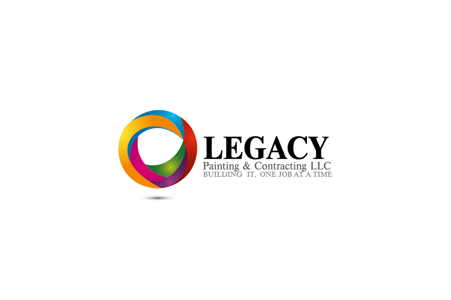Logo Design by Private User - Entry No. 13 in the Logo Design Contest Logo Design for Legacy Painting & Contracting LLC.