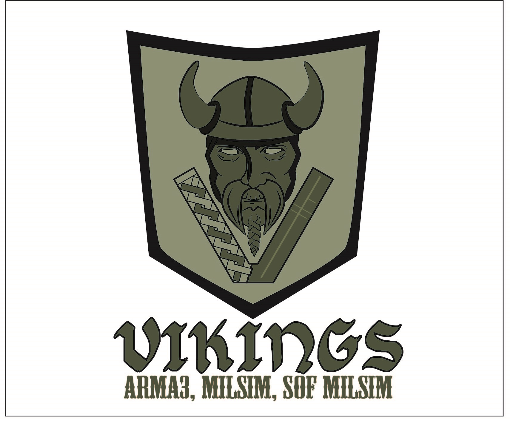 Logo Design by iwyn - Entry No. 5 in the Logo Design Contest Logo Design for Viking 9-3 MilSim Unit.