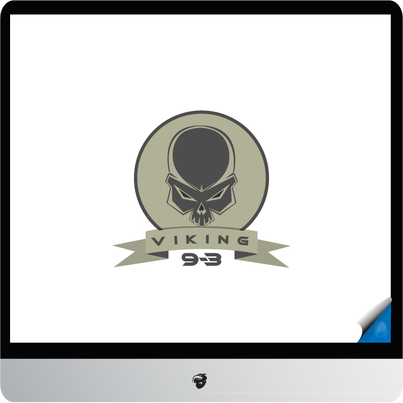 Logo Design by zesthar - Entry No. 7 in the Logo Design Contest Logo Design for Viking 9-3 MilSim Unit.
